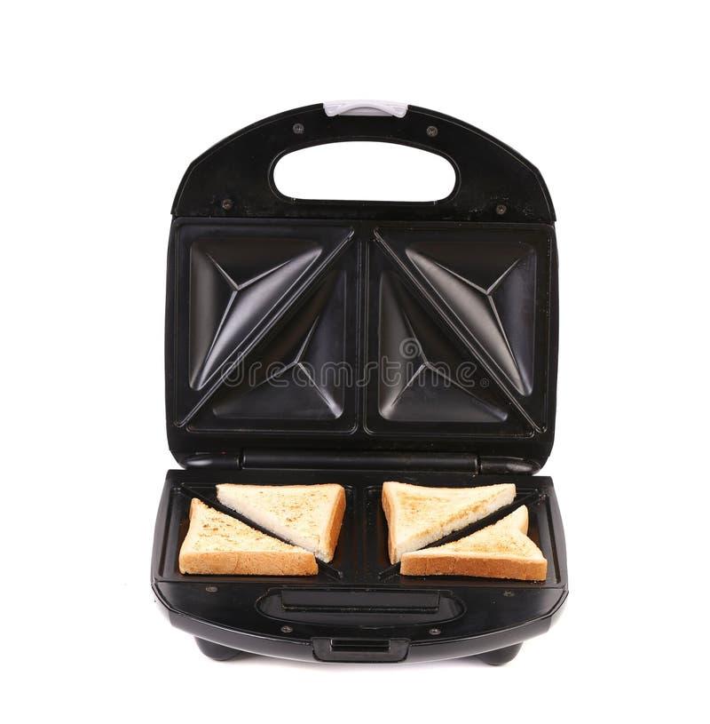 Создатель сандвича с хлебом стоковое изображение rf