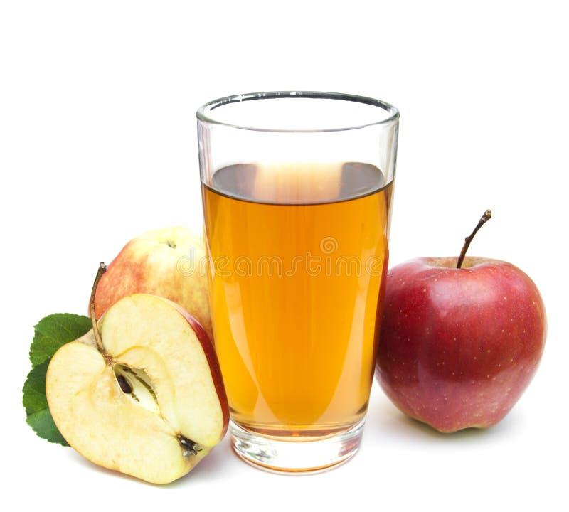 сока изображения еды яблок яблока 3d схематическое понижаясь прозрачное стеклянного естественное стоковое изображение