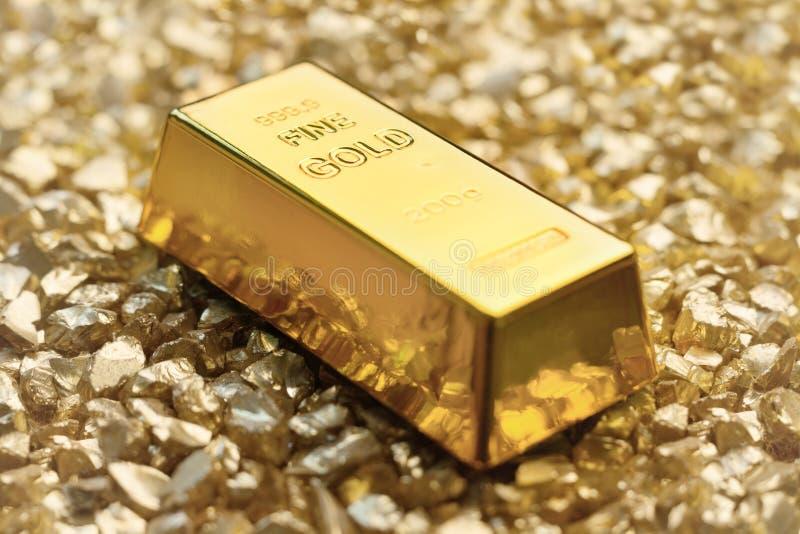 Сокровище золота стоковые изображения