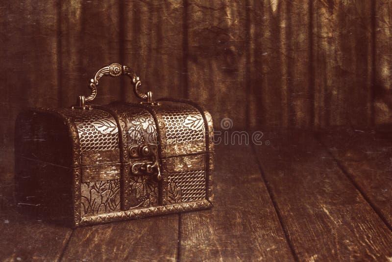 сокровище комода закрытое стоковое изображение