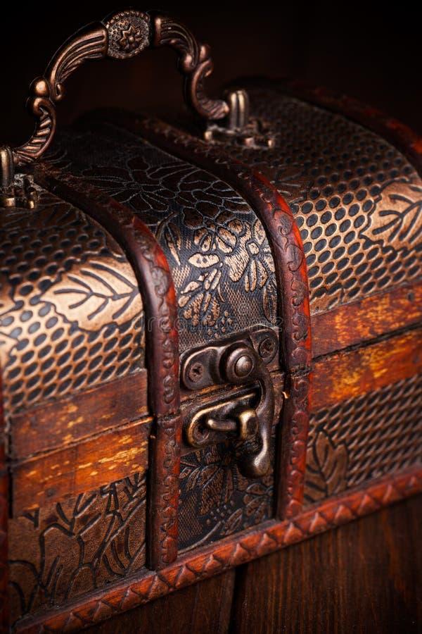 сокровище комода закрытое стоковая фотография