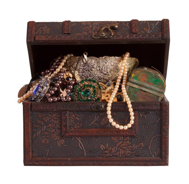 сокровище jewellery комода стоковые изображения rf