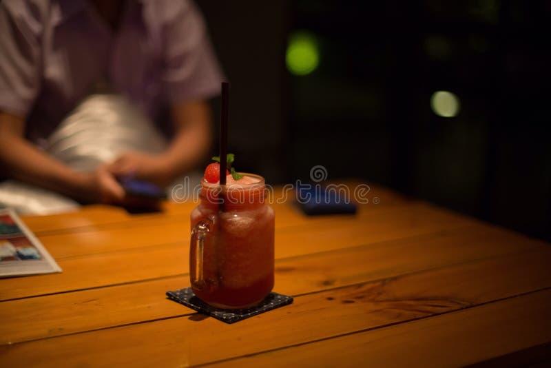 Сок арбуза стоковое фото rf