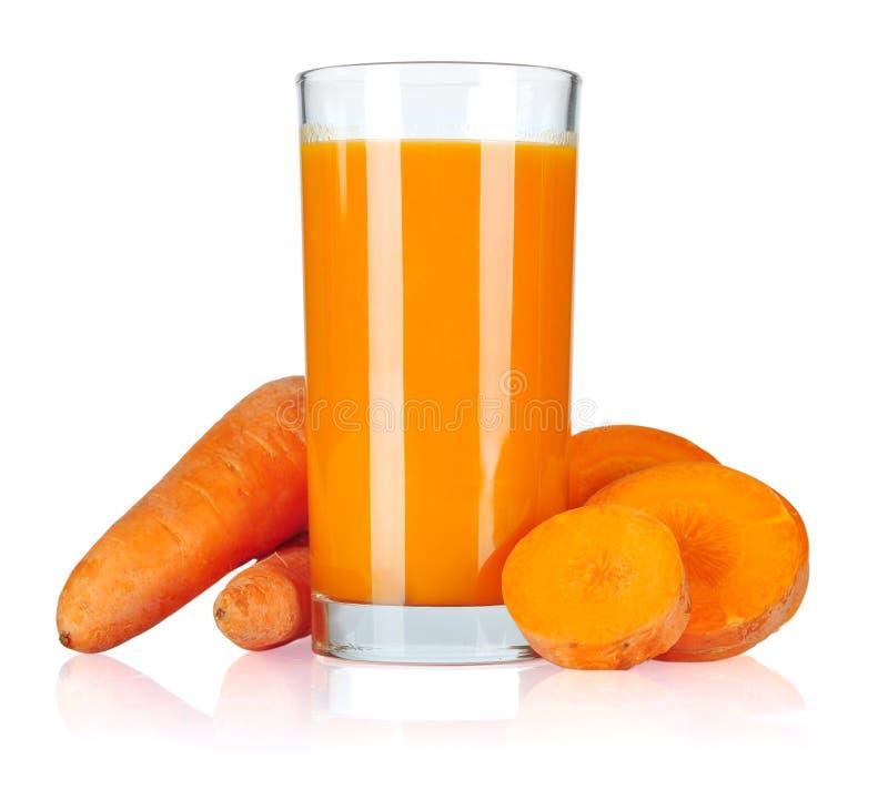 Сок моркови стоковое изображение rf
