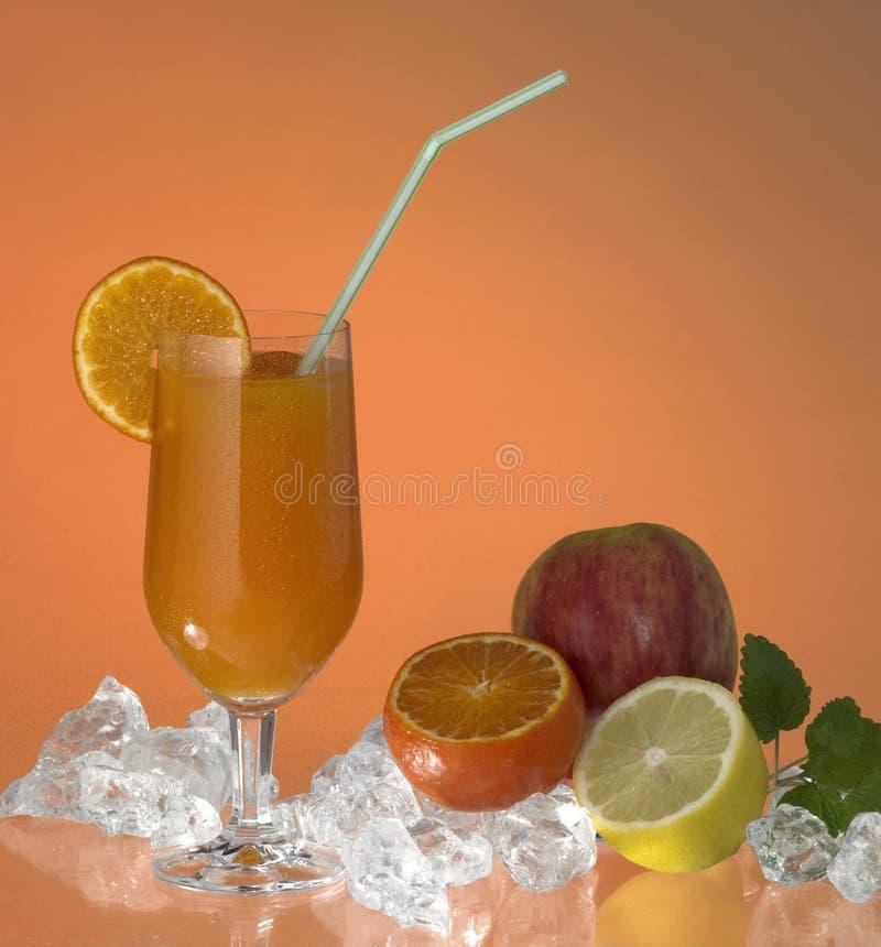 сок стекла плодоовощ стоковое фото