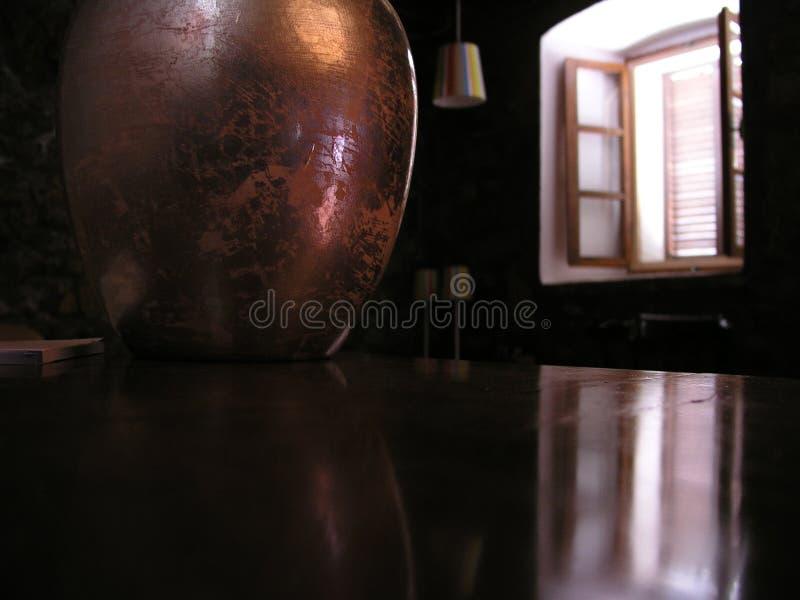 солнечний свет освещения стола стоковое фото
