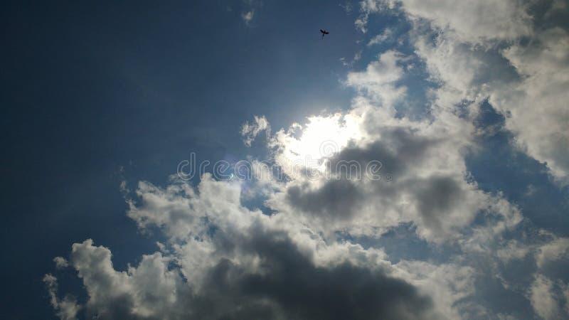 Солнечное затмение Greenbrier co Wv стоковые фотографии rf