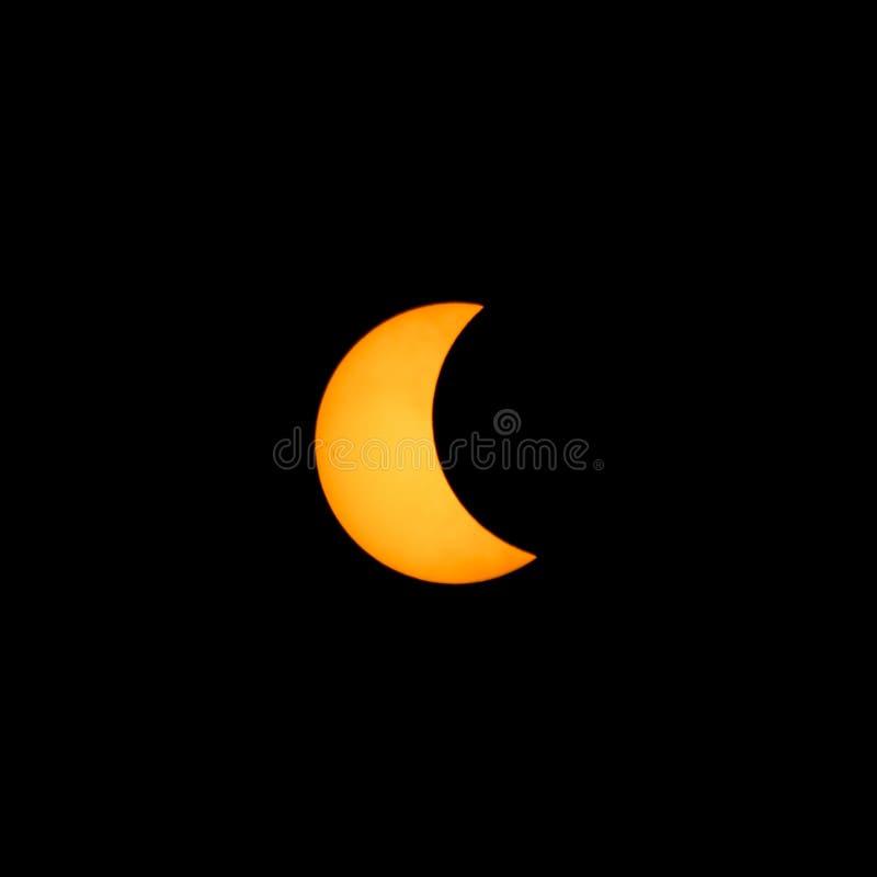 солнечное затмения частично стоковое фото rf