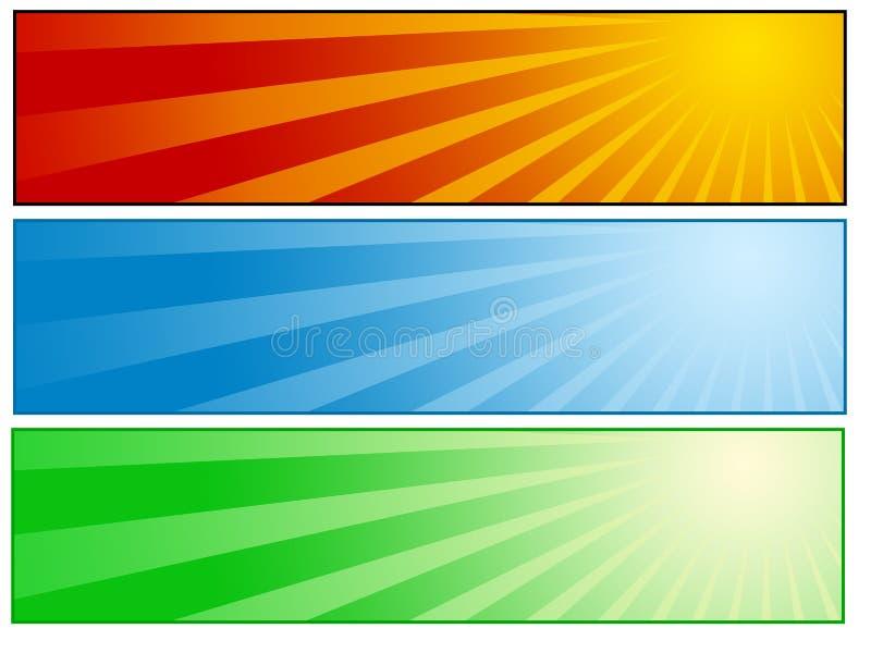 солнечное знамени установленное