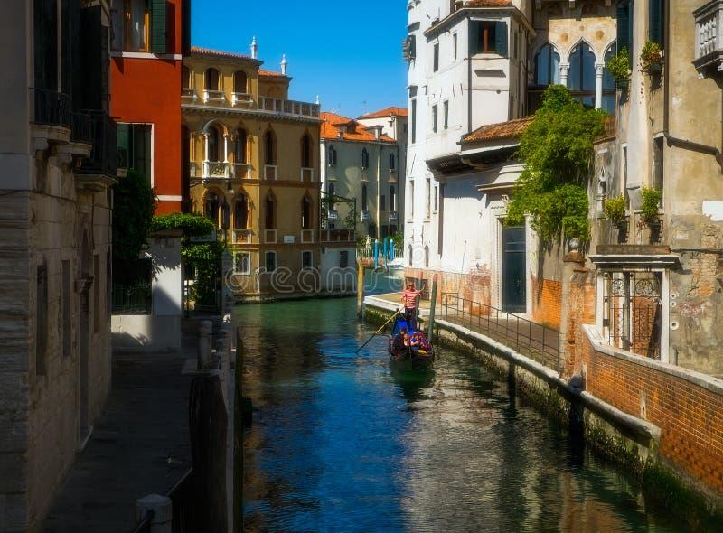 Солнечное утро в Венеции стоковая фотография