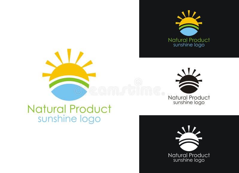 солнечность логоса стоковые изображения rf