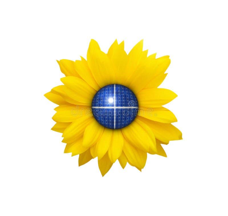 солнечно иллюстрация штока