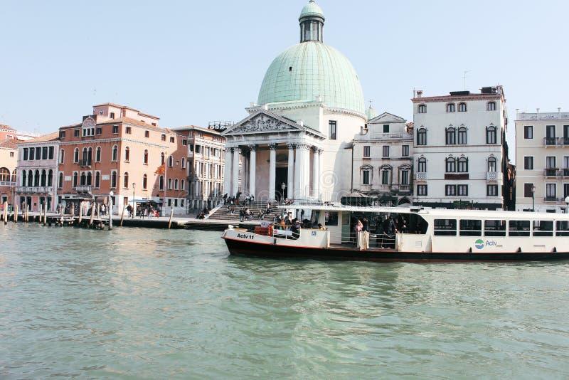 Солнечные дни в Венеции стоковые изображения