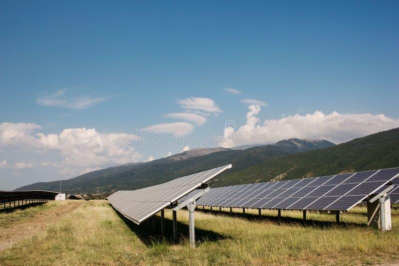 Солнечные коллекторы стоковая фотография rf
