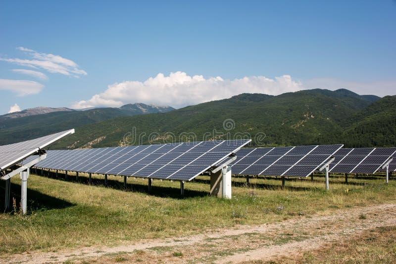 Солнечные коллекторы стоковые изображения rf