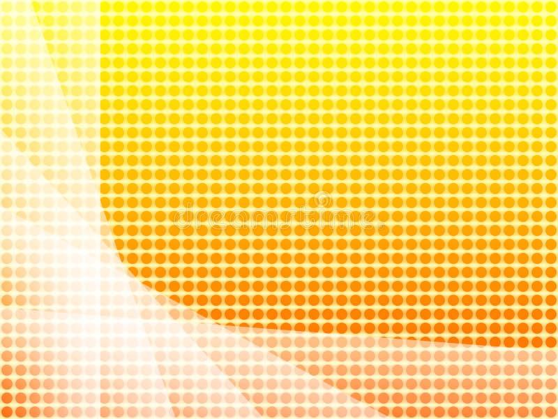 солнечные обои иллюстрация вектора