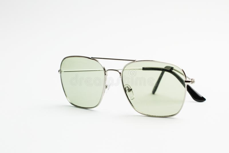 Солнечные очки моды пилотные стоковые фото