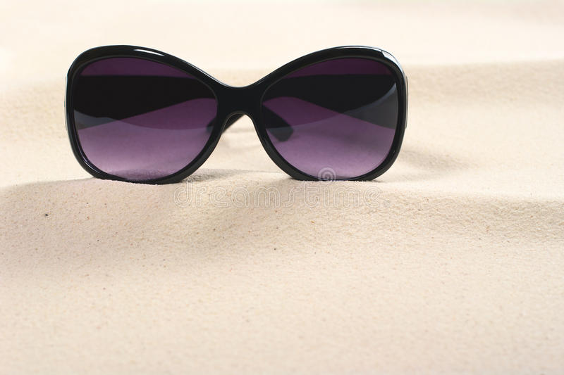 солнечные очки песка Стоковое Фото