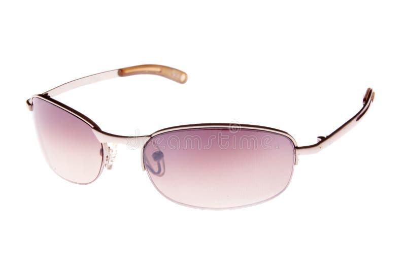 солнечные очки предпосылки пурпуровые белые стоковые фотографии rf