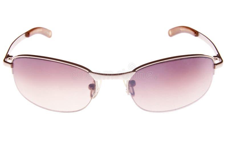 солнечные очки предпосылки пурпуровые белые стоковые изображения