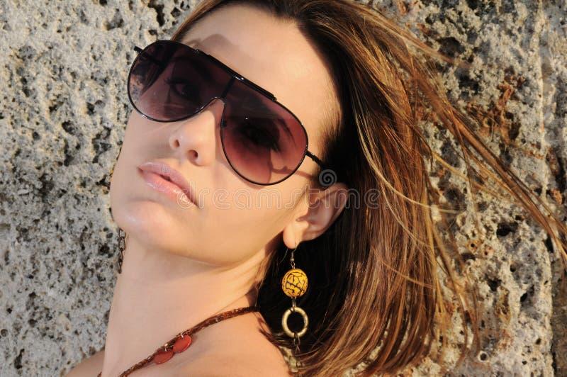 солнечные очки способа стоковая фотография