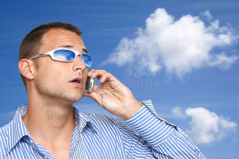 солнечные очки человека стоковые изображения