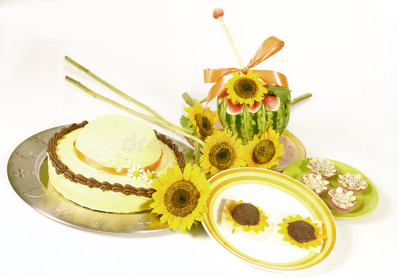 солнцецвет еды стоковые фото