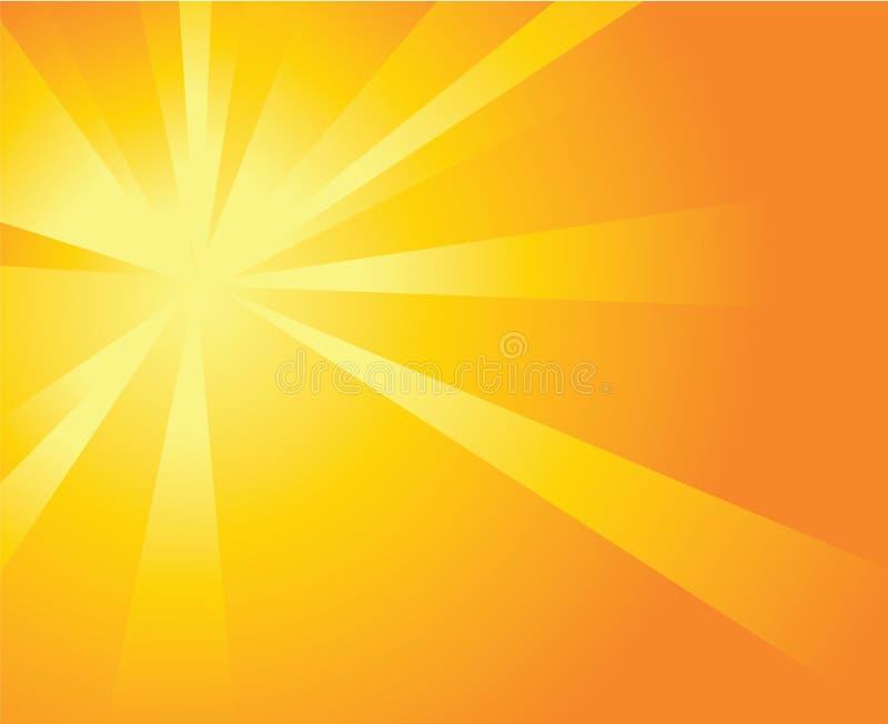 солнце взрыва иллюстрация штока