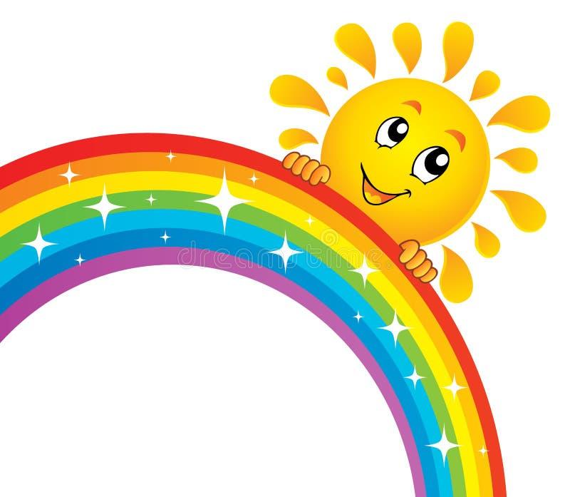 Солнышко и радуга картинки для детей на прозрачном фоне