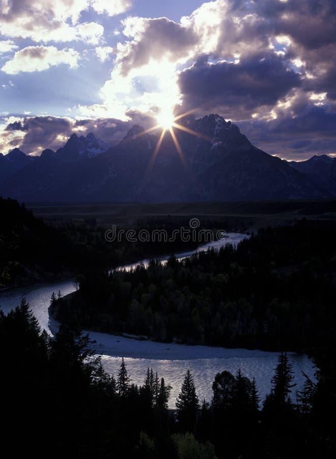 солнце звезды кривого s стоковые фото