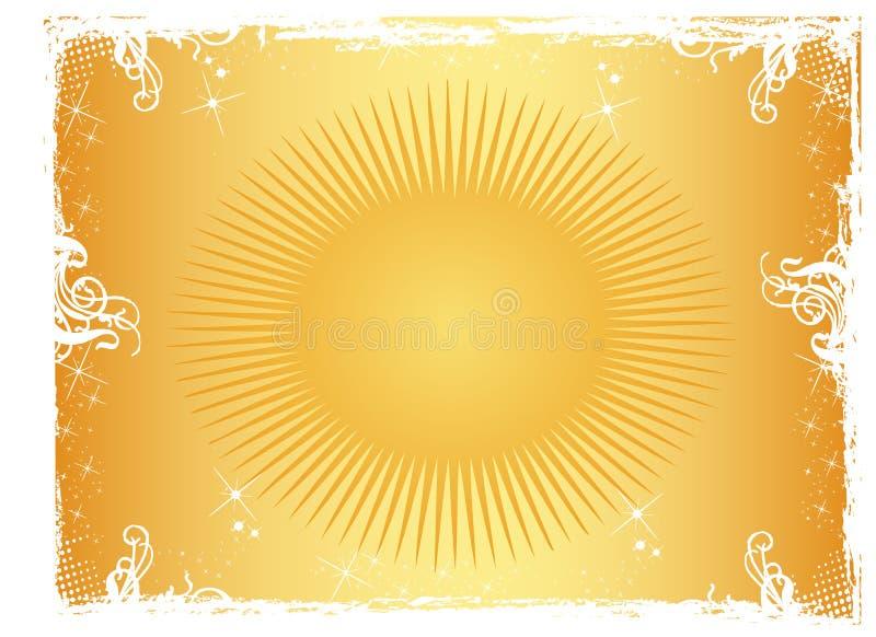 солнце орнамента иллюстрация вектора