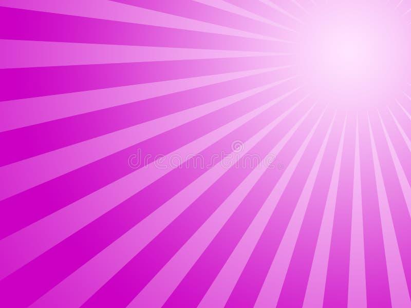 солнце пурпура предпосылки иллюстрация штока