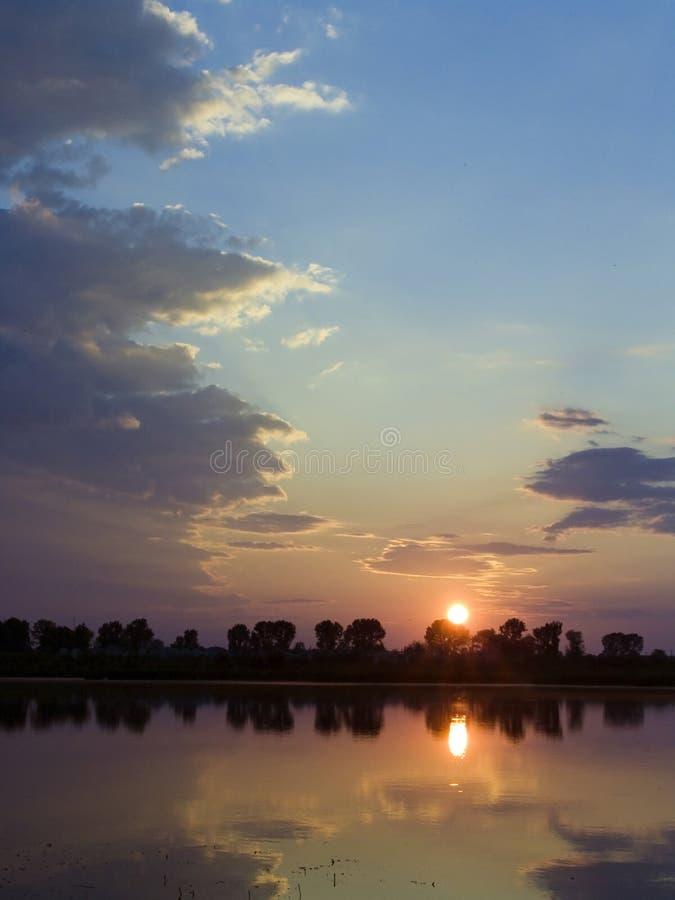 солнце рассвета стоковая фотография
