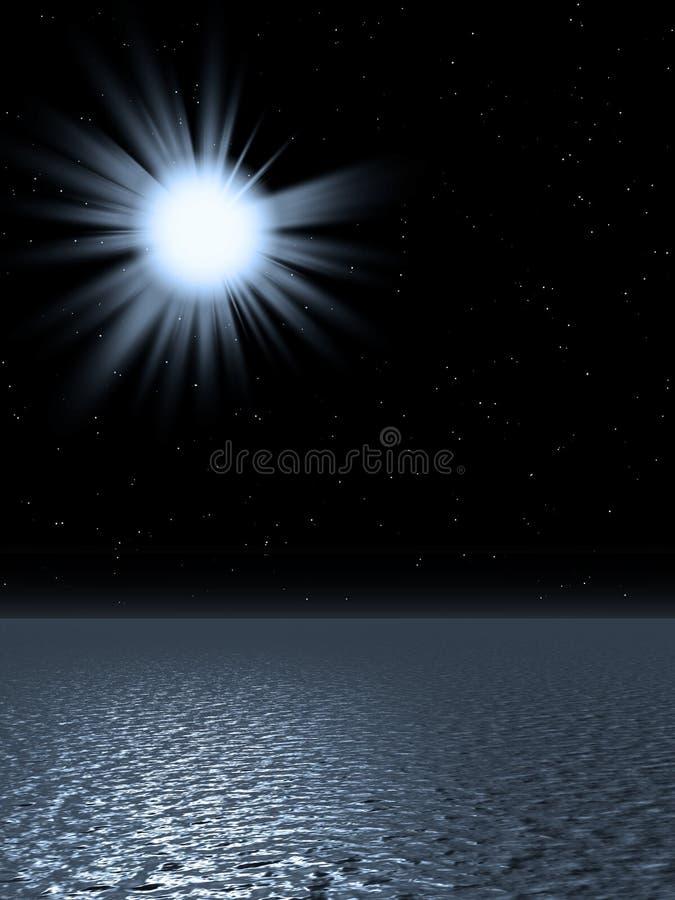 солнце рождения иллюстрация вектора