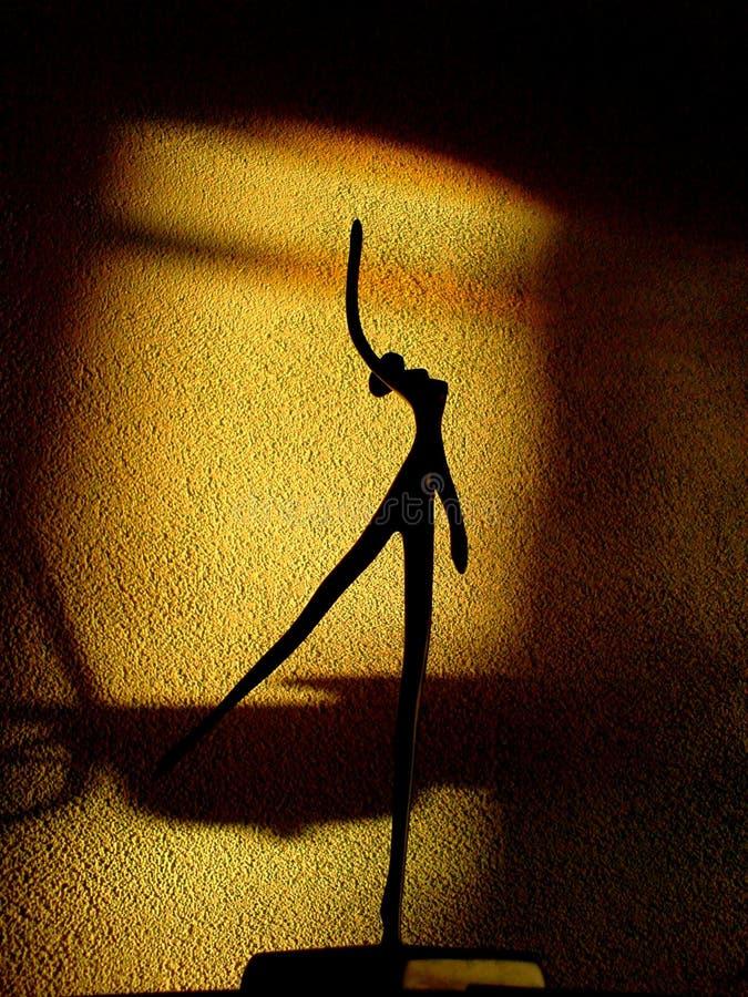 солнце танцора стоковые изображения rf