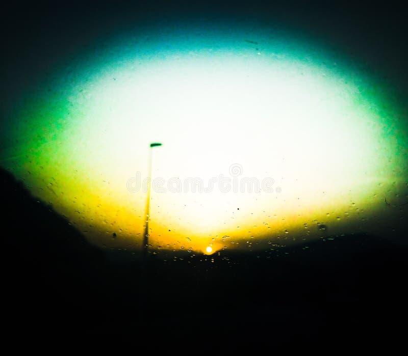 Солнце через окно стоковые фото