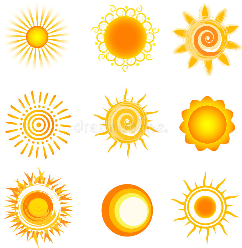 солнце иллюстрация вектора