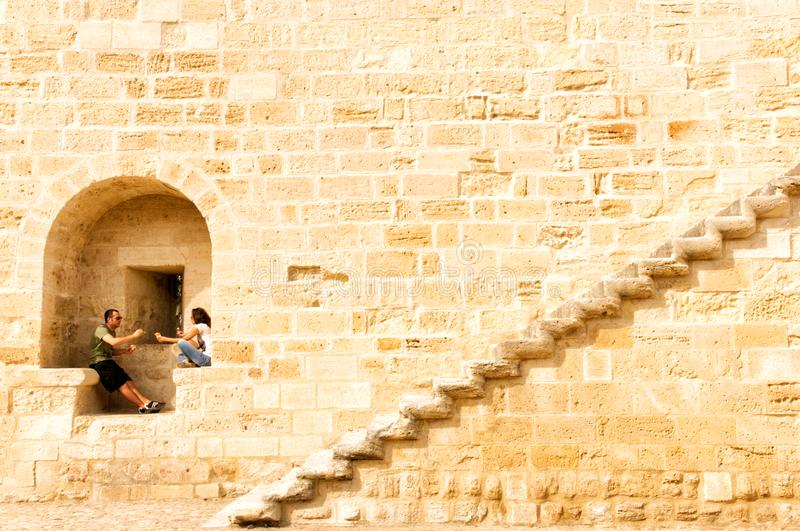 солнце stairway к стоковая фотография