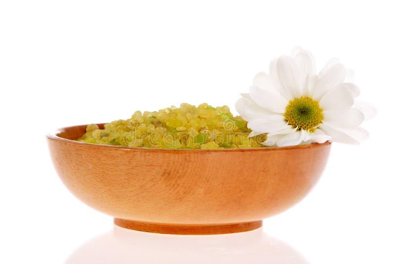 соль для принятия ванны стоковые изображения rf