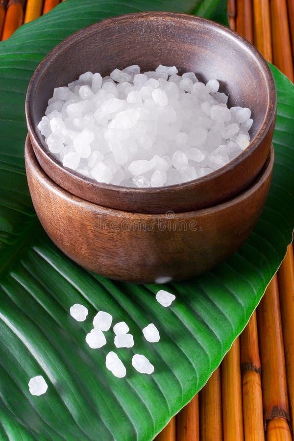 соль для принятия ванны стоковое изображение rf