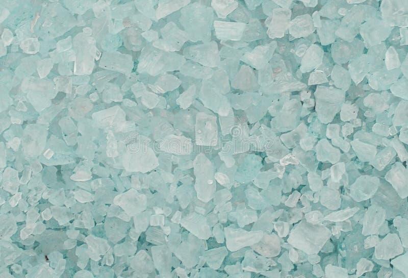 Соль моря предпосылки голубое стоковые фото