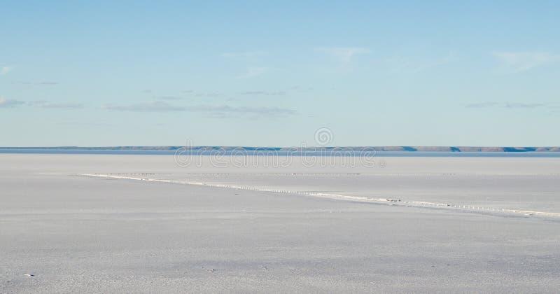 соль озера пустыни стоковое фото rf