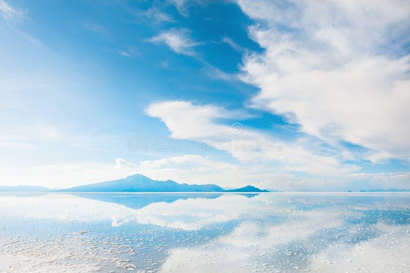 Соль плоский Салар de Uyuni, Боливия стоковое фото rf