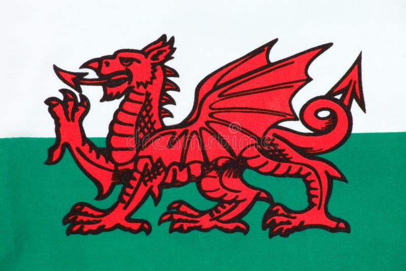 соотечественник вэльс флага стоковое фото