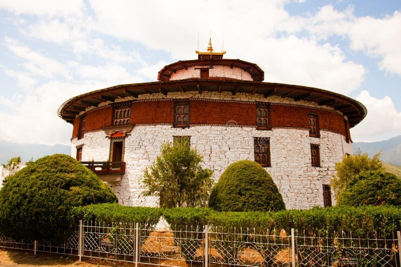 соотечественник музея Бутана стоковая фотография rf