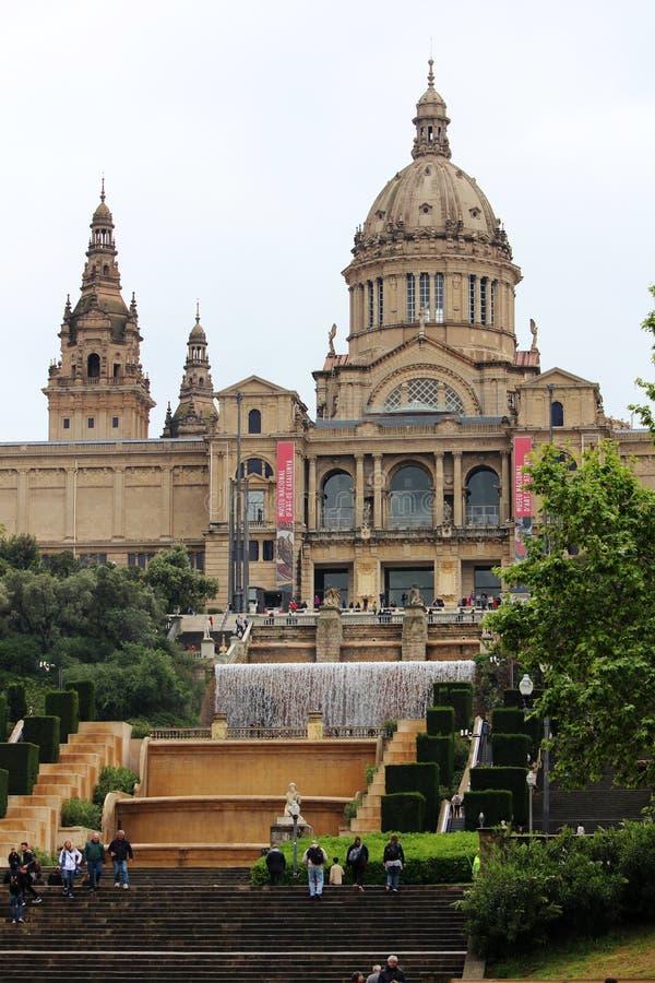 соотечественник музея barcelona Каталонии искусства стоковая фотография