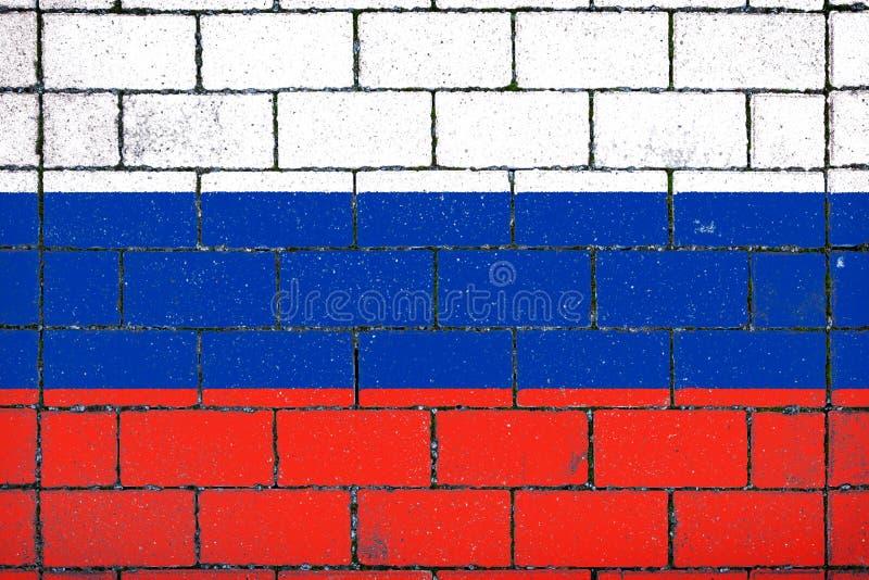 соотечественник Россия флага стоковое изображение rf
