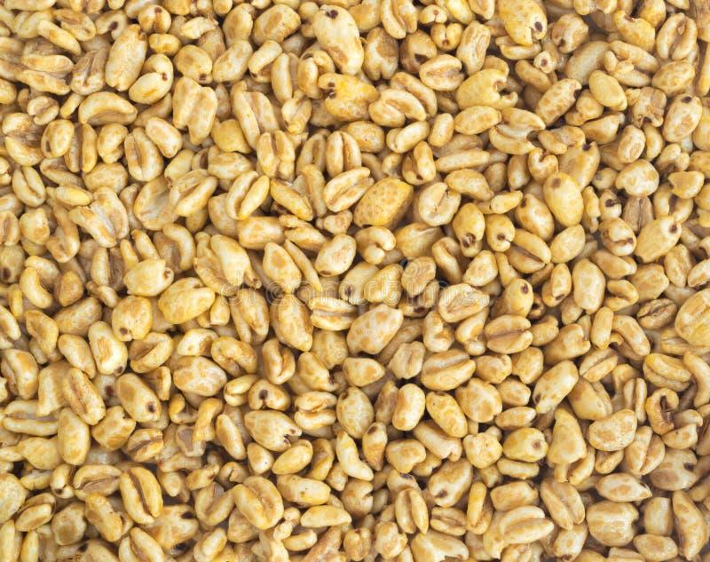 Сопенная предпосылка закуски пшеницы стоковое изображение