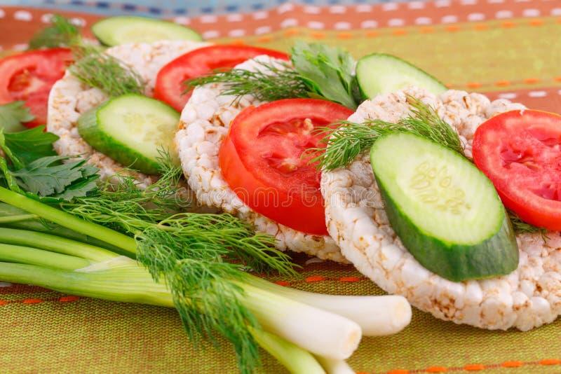 Сопенные сандвичи шутих риса стоковые изображения