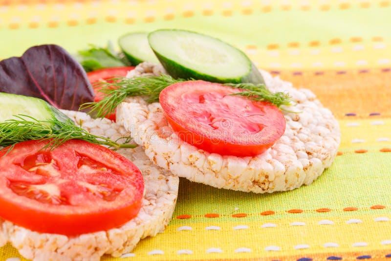 Сопенные сандвичи шутих риса стоковая фотография